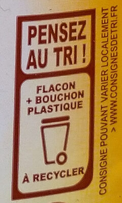Tartimiel - Recycling instructions and/or packaging information - fr