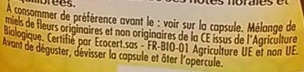 Miel de Fleurs bio - Ingrediënten - fr