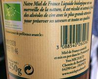 Miel l'apiculteur - Fleurs de France - Ingrediënten - fr