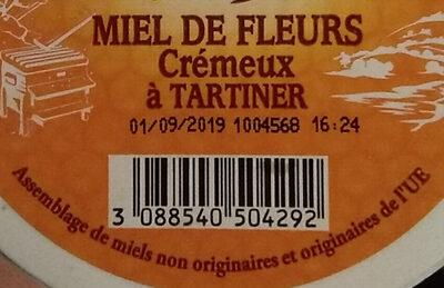 miel - Ingrédients - fr