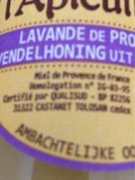 Lavande de Provence - Ingrediënten - fr