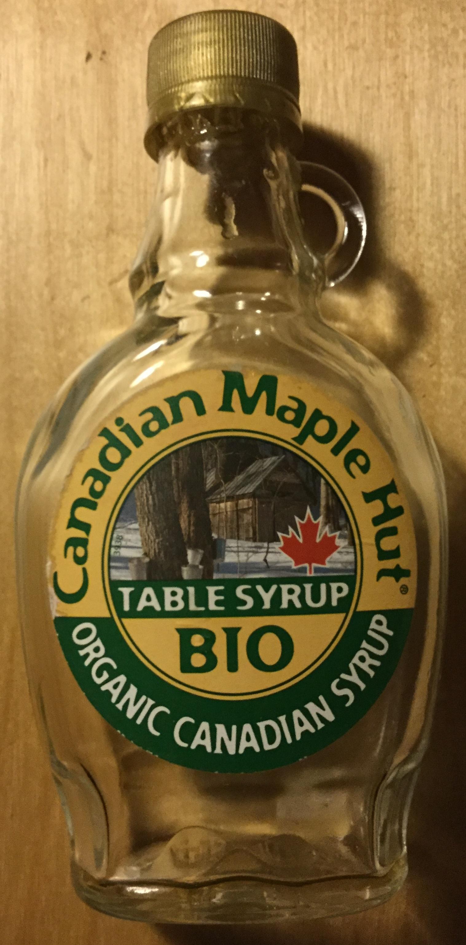 Organic Canadian Syrup - Produit