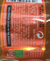 Miel et gelée royale - Ingredients - fr