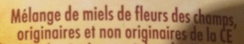 Miel de Fleurs des Champs - Ingredients - fr