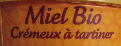 Miel Crémeux Bio - Ingrédients