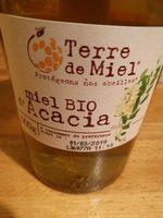 Miel Acacia Bio - 500 GR - Terre De Miel - Product