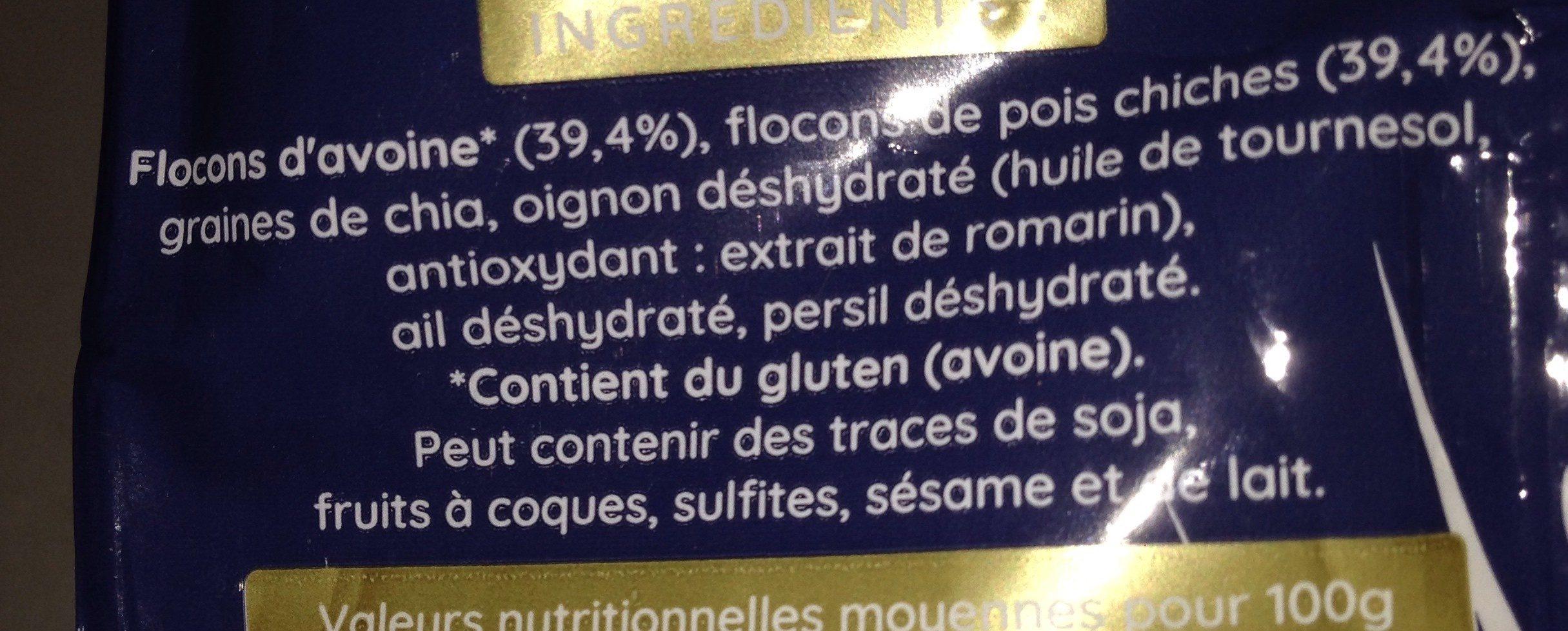 Rapidoats - Ingredients - fr