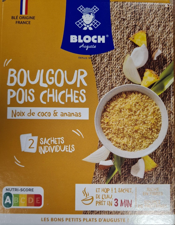 Boulgour & Pois chiches  Noix de Coco et Ananas - Product - fr