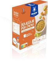 Boulgour & Pois chiches Légumes du potager - Product - fr
