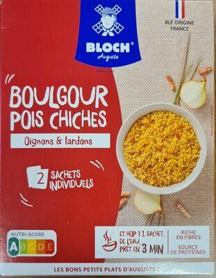 Boulgour & Pois chiches Oignons et Lardons - Product - fr