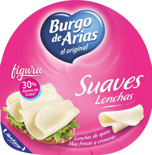 Figura queso tiernom.g. lonchas suaves y cremosas - Produit - es
