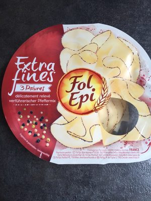 FOL EPI, tranches extra fines 3 poivres - Product - fr