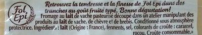 Fol Epi Caractère (1+1 Gratuit) - Ingredients - fr