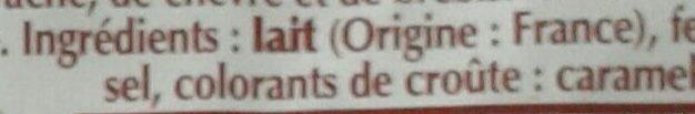 Fol Epi - Ingredients