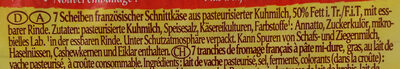 Fol Epi classic Nussig & Mild - Ingrediënten - de