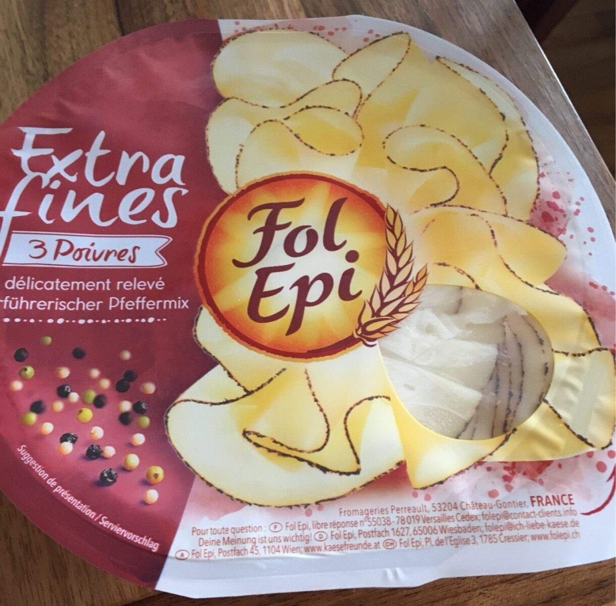 Fol epi extra fines 3 poivres - Produit - fr
