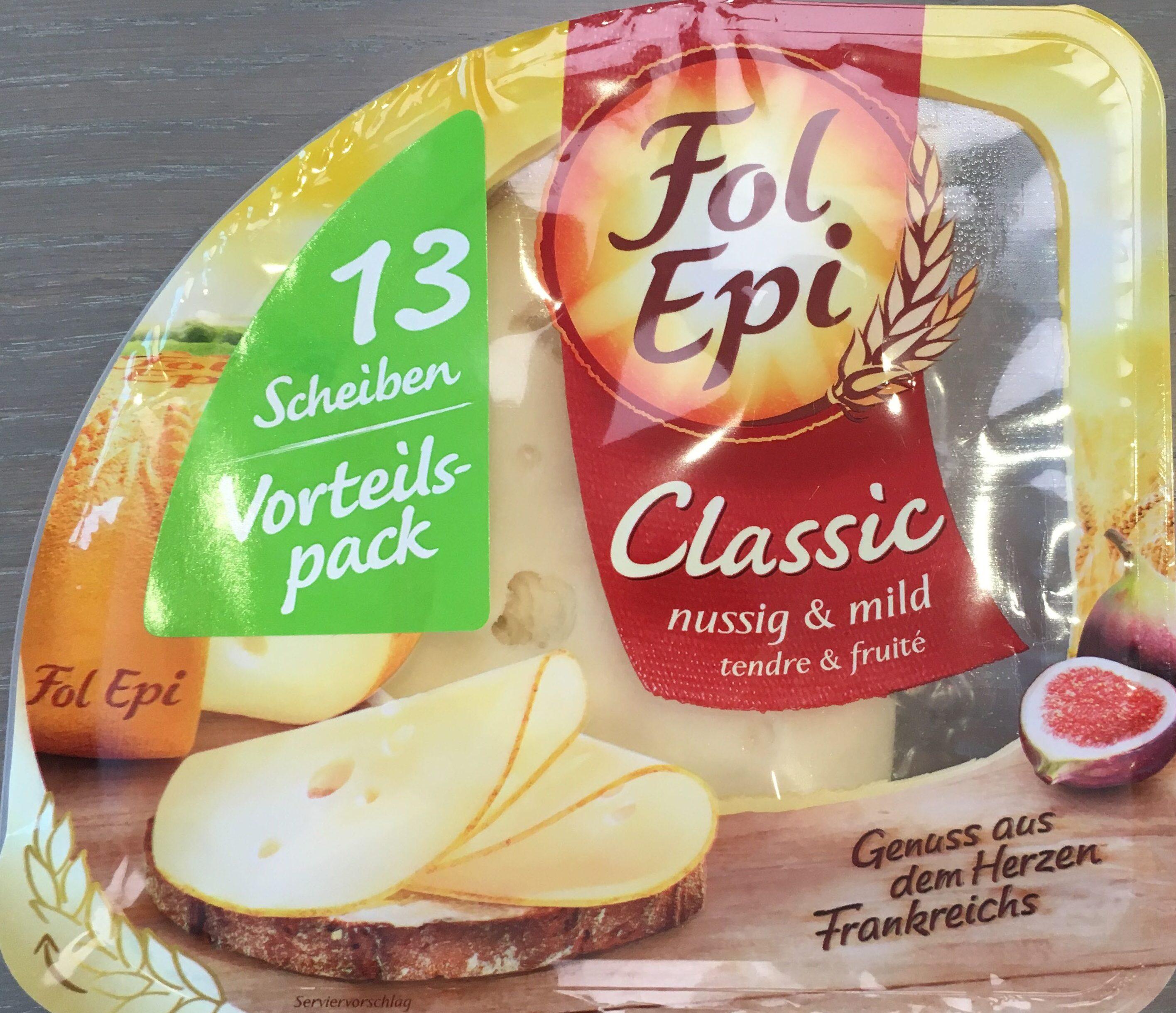Fol Epi Classic, Nussig & Mild, 13 Scheiben Vorteilspack - Produit - de
