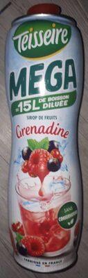 Sirop de Fruits Grenadine - Product - fr