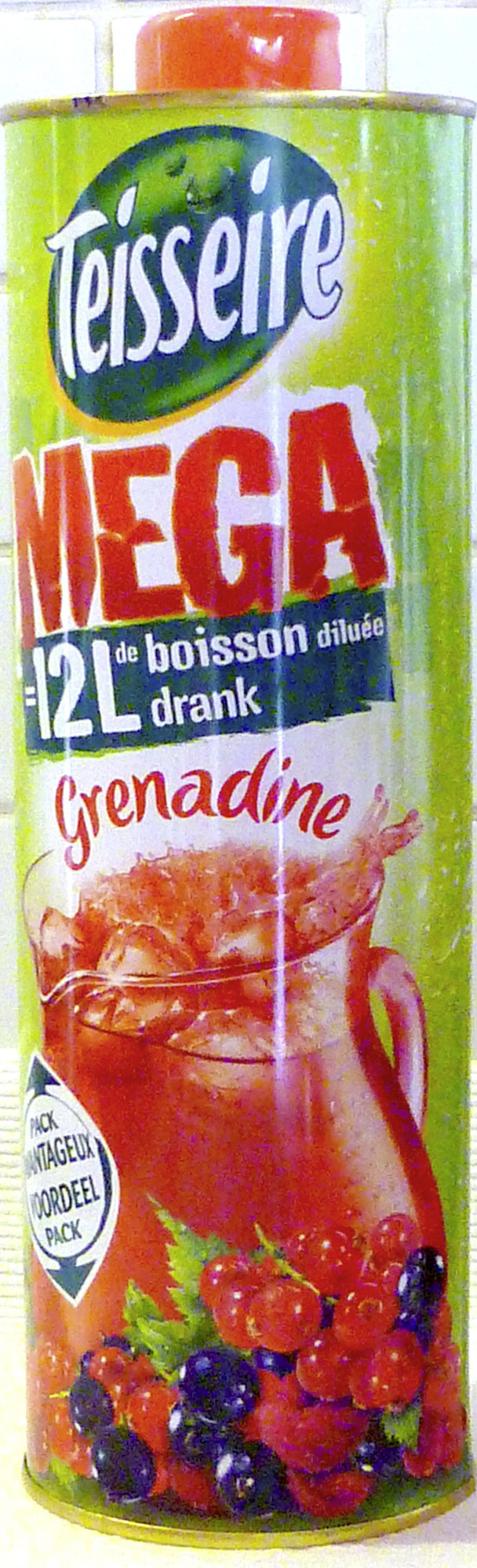 Mega Grenadine - Produit - fr