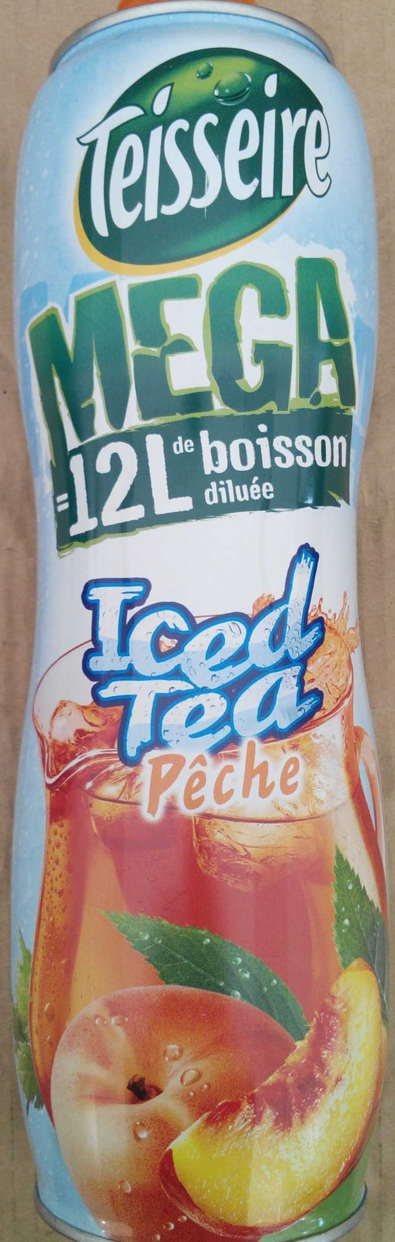 MEGA Iced Tea Pêche - Product