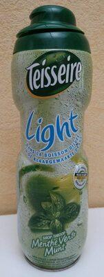Sirop menthe verte light - Produit - fr