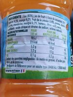 Fruit shoot tropical - Informations nutritionnelles - fr