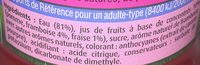Fruit Shoot Fruits Rouges - Ingredients