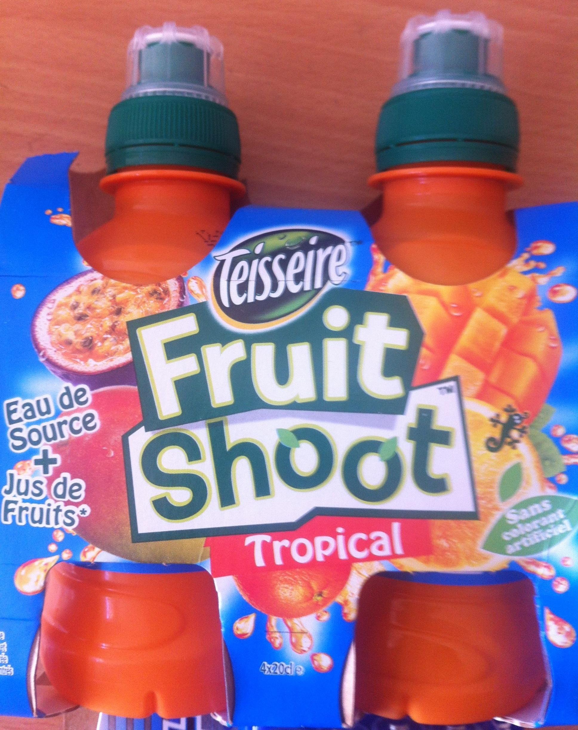 Fruit Shoot Tropical - Produit - fr