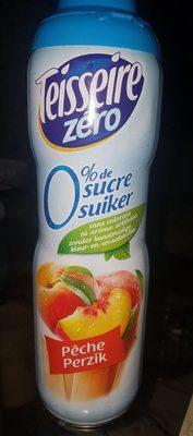 Sirop de pêche zéro 0% de sucre - Produit