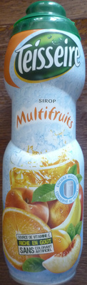 Sirop multifruits - Product - fr