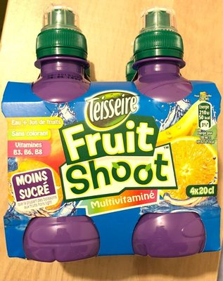 Fruit Shoot Multivitaminé - Product - fr
