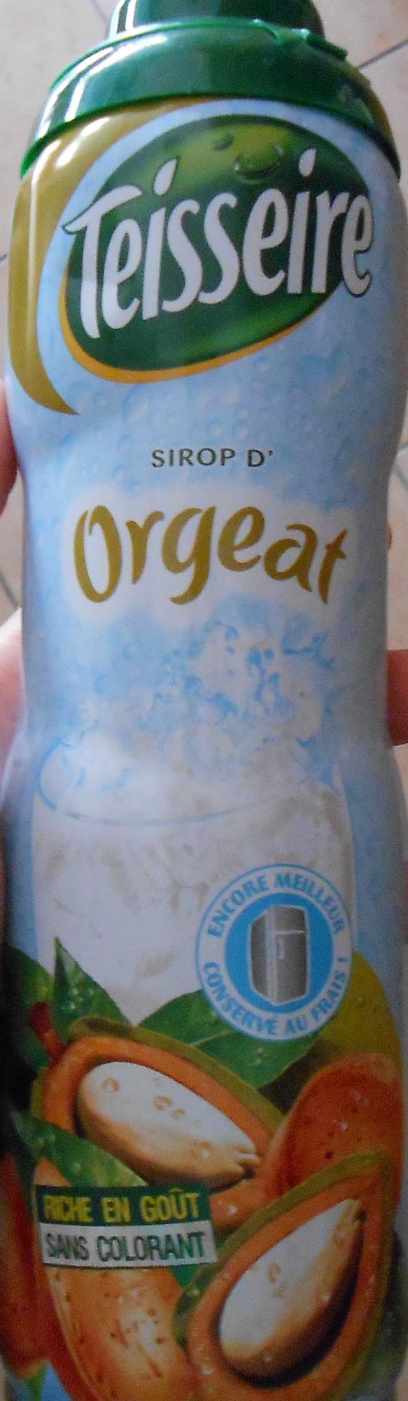Sirop d'Orgeat - Produit - fr
