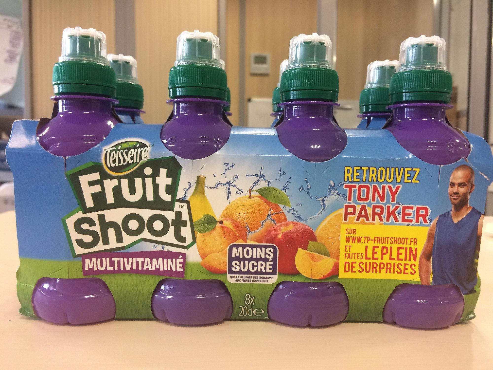 Fruit Shoot Multivitaminé - Produit