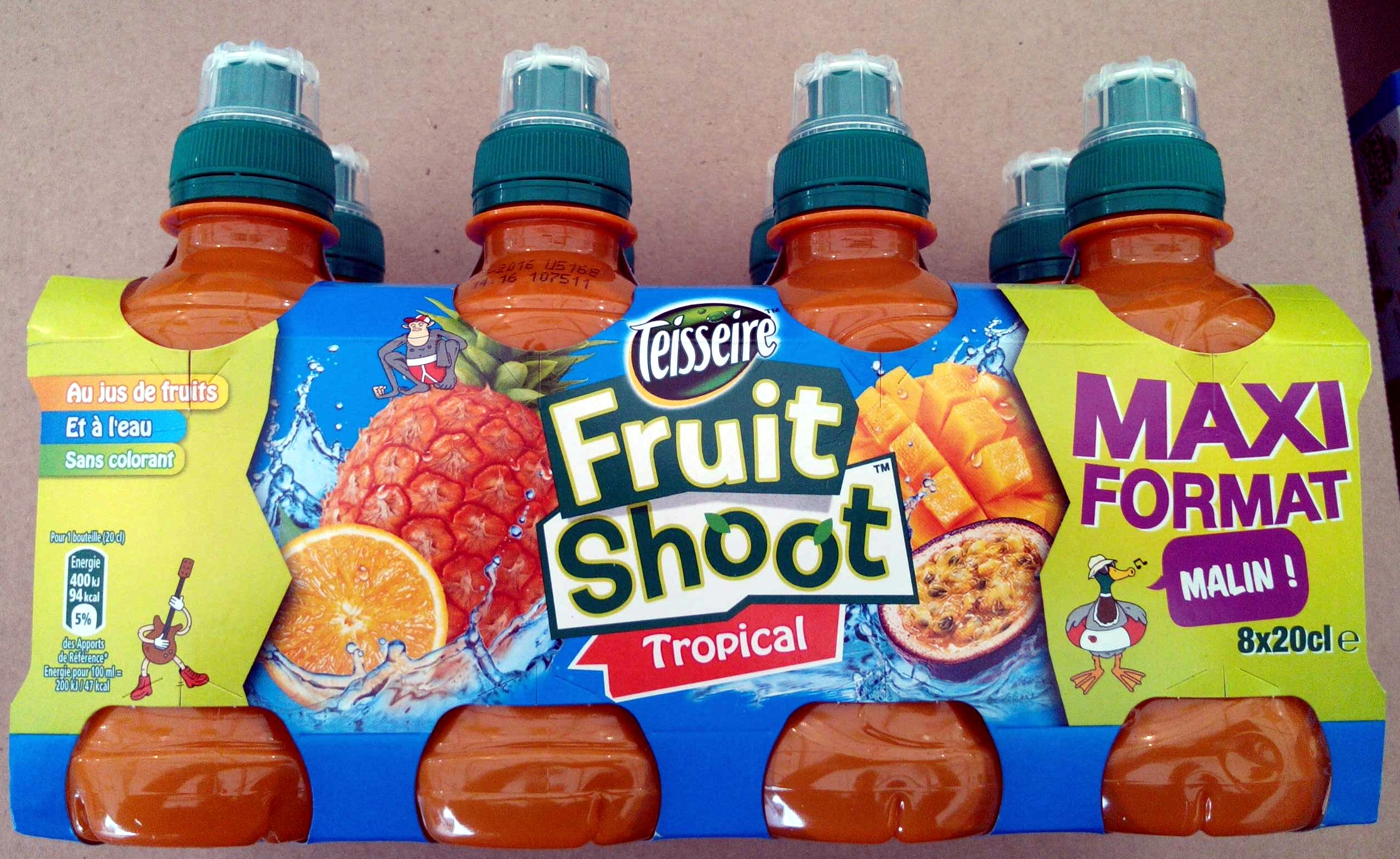 Fruit Shoot Tropical - Product - fr