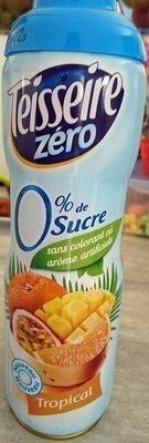 Tropical Zéro Sucres - Prodotto - fr