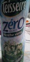 Sirop de menthe zéro sucre - Produit - fr