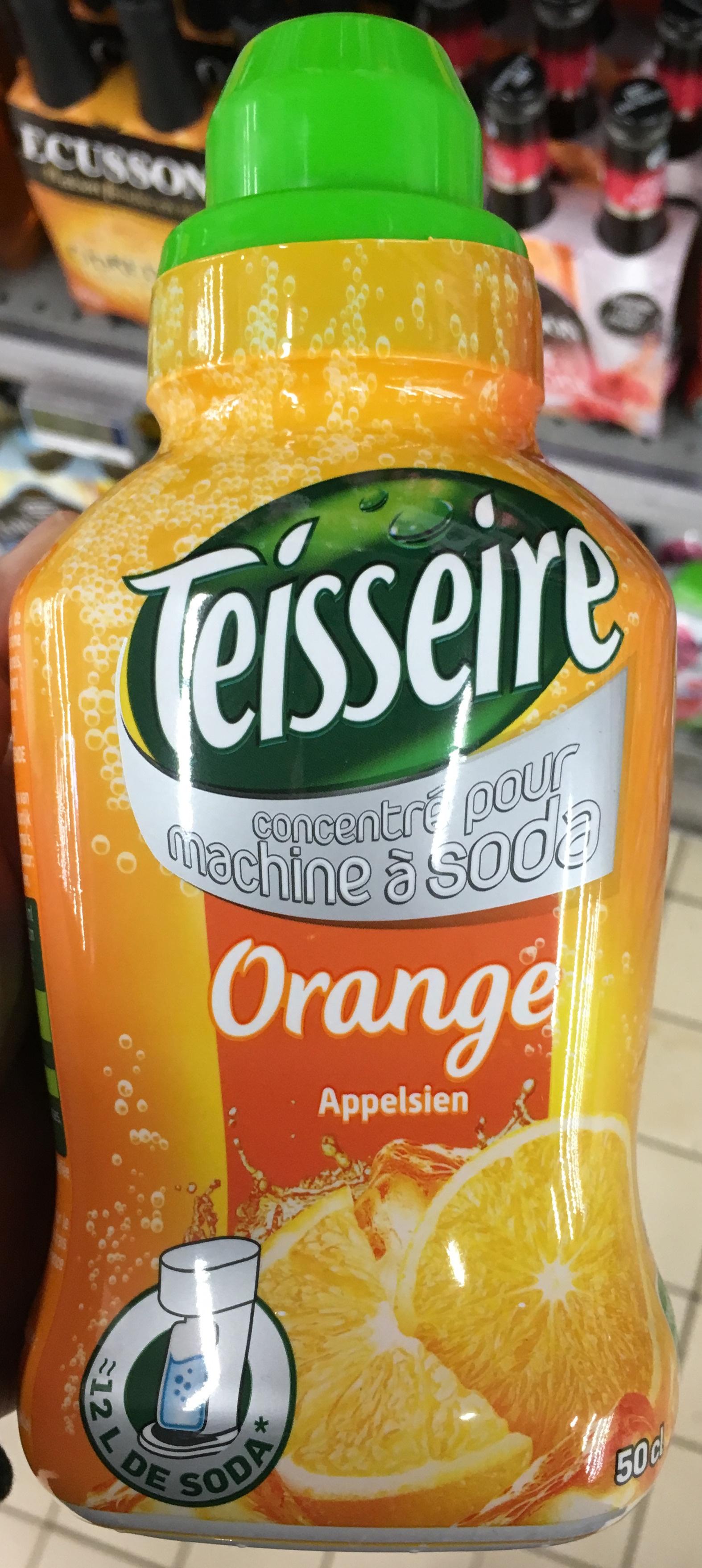 Concentrée pour machine à soda Orange - Product - fr
