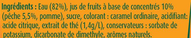 Fruit Shoot Iced Tea Pêche - Ingredients