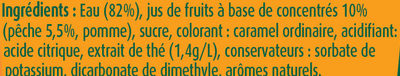 Fruit shoot Iced Tea - Ingredients