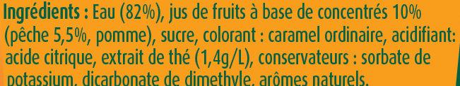 Fruit shoot Iced Tea - Ingredients