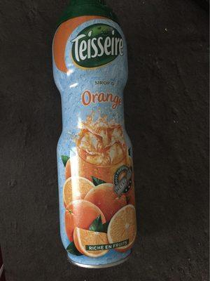 Sirop d'orange - Produit