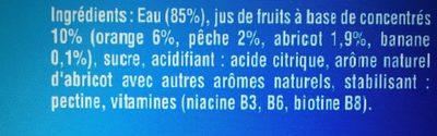 Fruit shoot multivitaminé - Ingredients