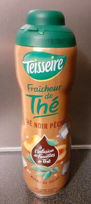 Thé  noir pêche - Produit - fr