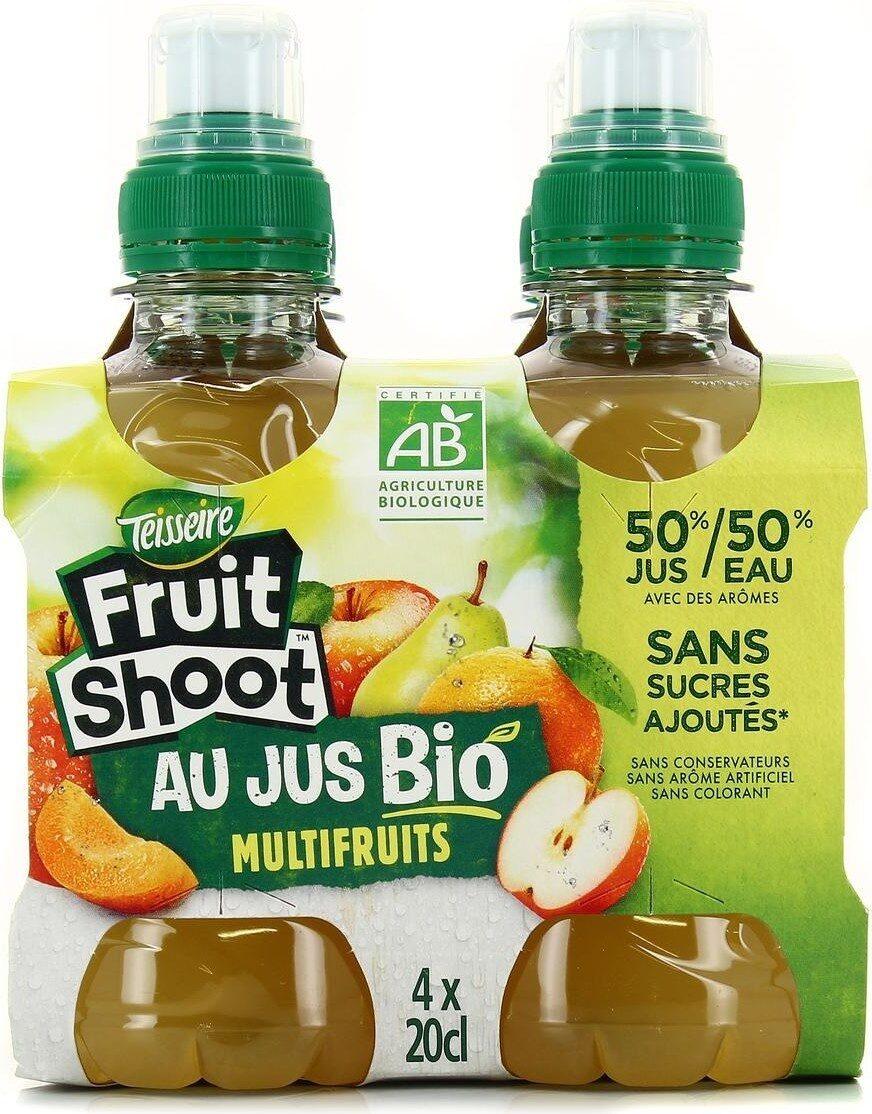 Fruit shoot au jus bio multifruits - Prodotto - fr