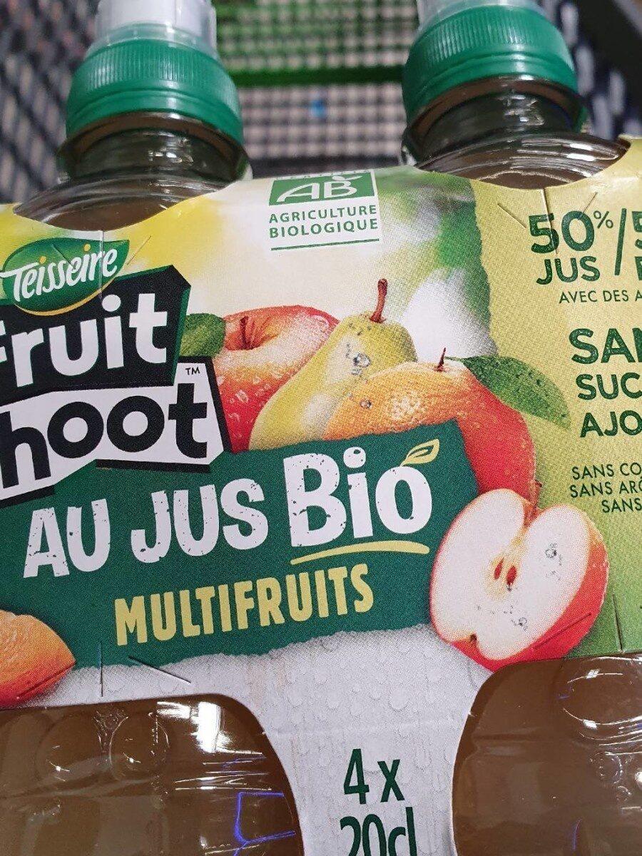 Fruit shooté au jus bio multifruits - Product - fr
