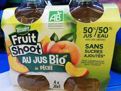 Fruit shoot au jus bio de pêche - Product
