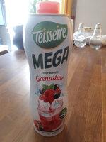 Mega Sirop de fruits Grenadine - Product - fr