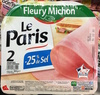 Le Paris (-25% de sel) - Product
