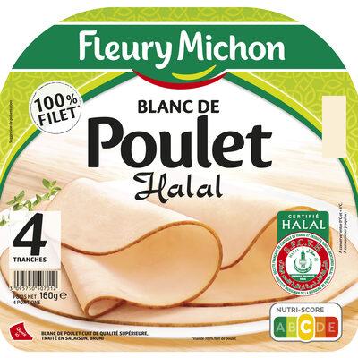 Blanc de poulet Halal - 4tr. - 9