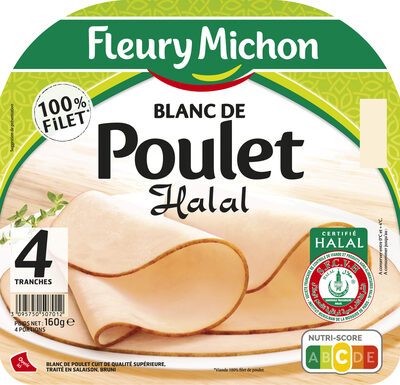 Blanc de poulet Halal - 4tr. - Produkt